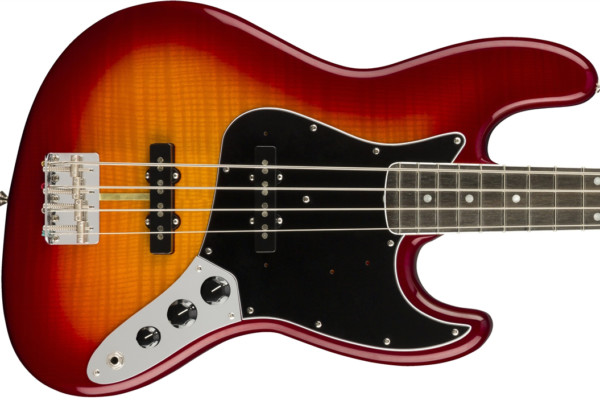 Fender Previews the Rarities Flame Ash Top Jazz Bass