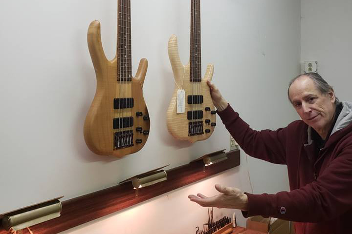 Ken Smith with Basses