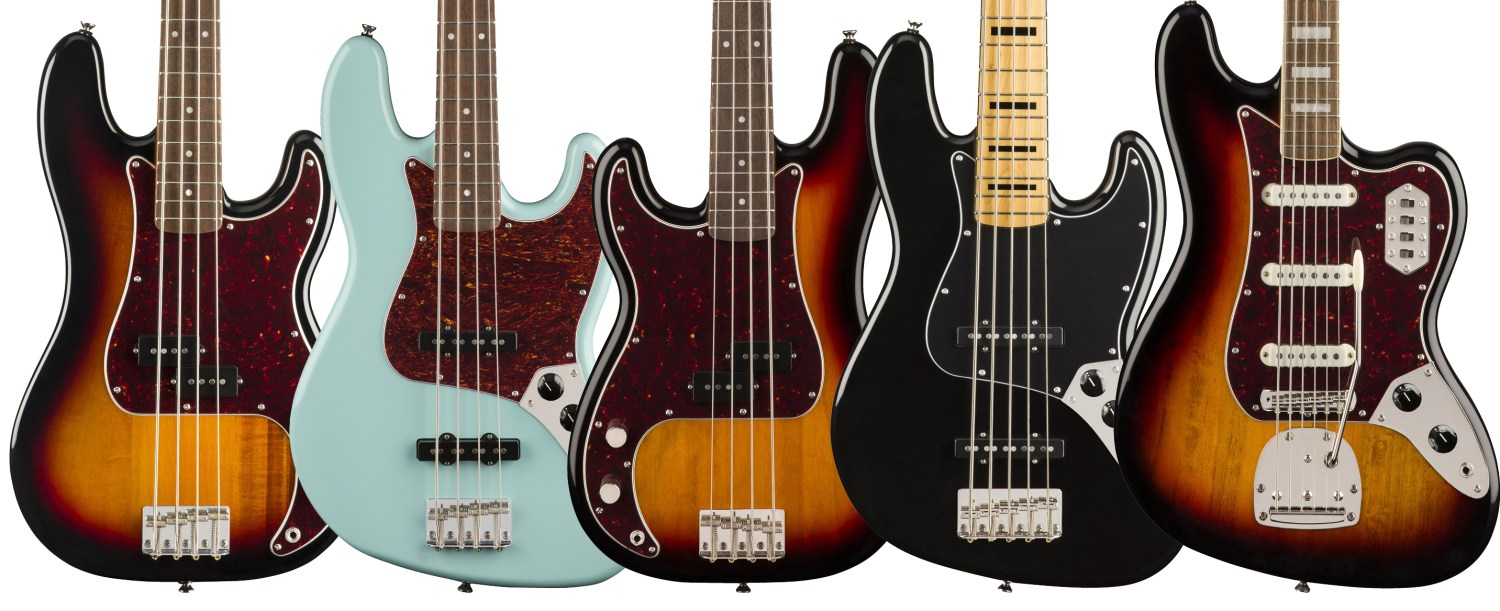 Squier Classic Vibe Series Bass Bodies