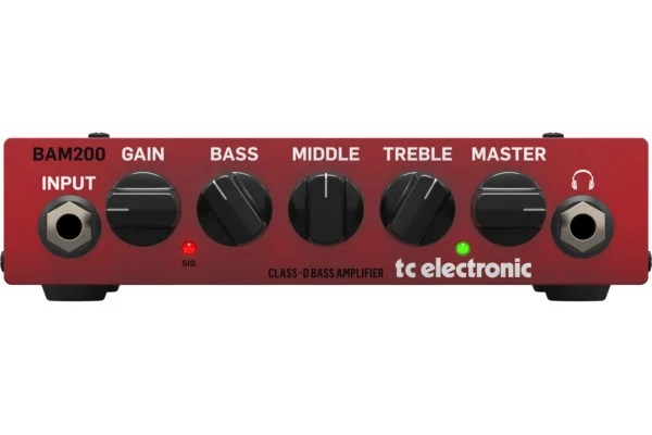 TC Electronic Introduces the BAM200 Mini Bass Amp