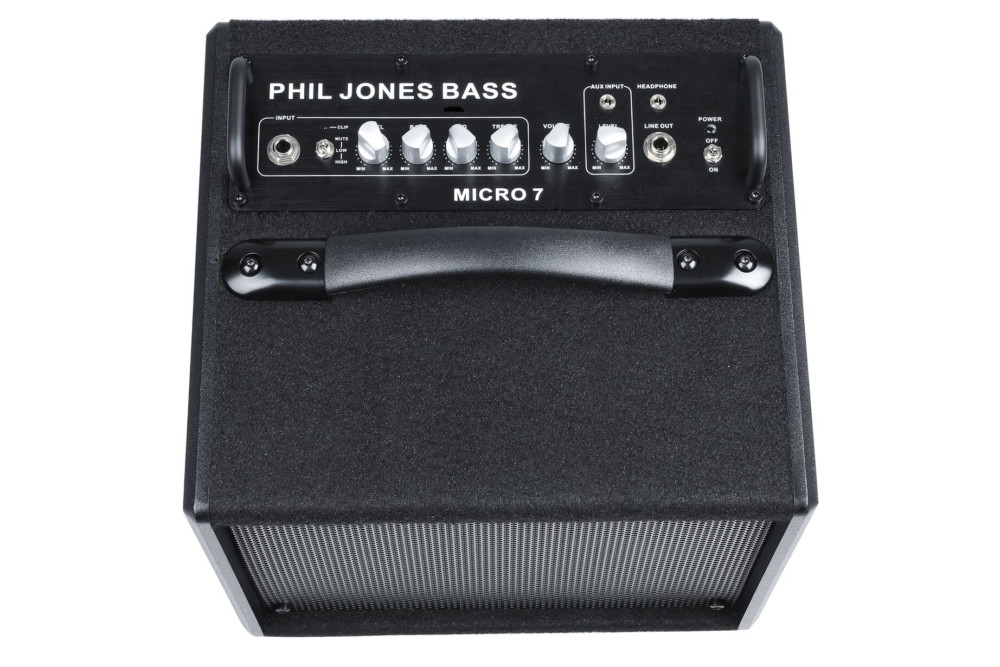 phil jones bass releases the micro 7 bass combo amp no treble. Black Bedroom Furniture Sets. Home Design Ideas