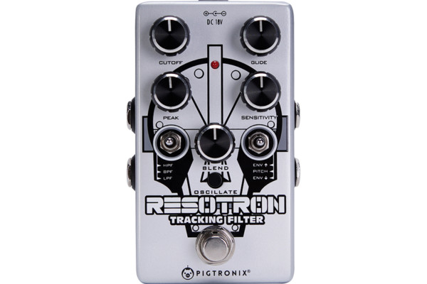 Pigtronix Introduces the Resotron Analog Filter Pedal