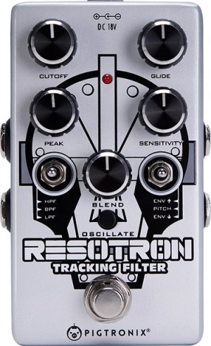 Pigtronix Resotron Analog Filter Pedal