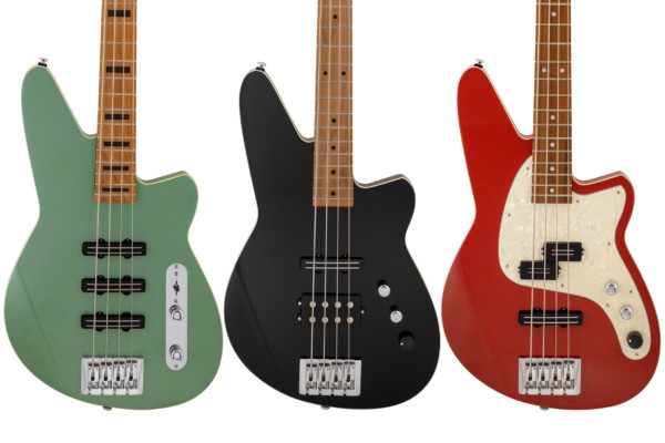 Reverend Guitars Introduces Triad, Raymond, Decision P Basses