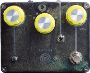 Spiral Electric FX Yellow Spiral Drive Pedal