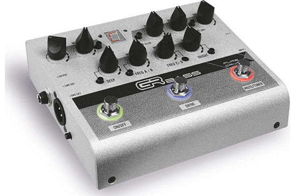 GR Bass Introduces the Pure Drive Pedal