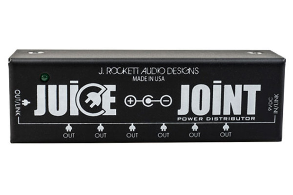 J Rockett Audio Designs Announces the Juice Joint Power Distributor