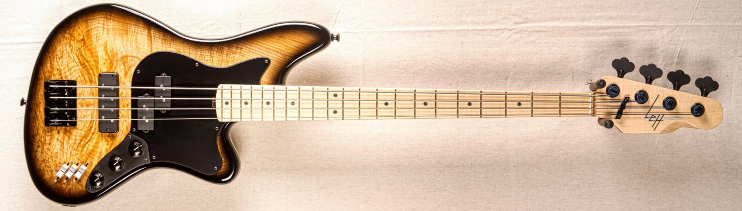 LEH Guitars Offset 4-String Bass