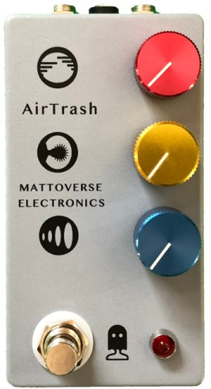 Mattoverse Electronics AirTrash Pedal