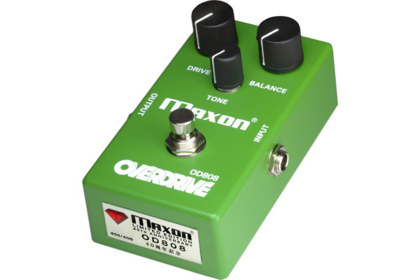 Maxon Unveils the Limited-Edition 40th Anniversary OD808-40 Overdrive Pedal