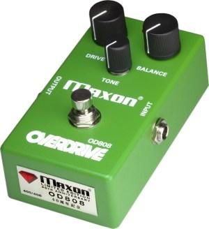 Maxon 40th Anniversary OD808-40 Overdrive Pedal