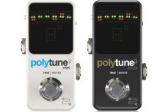 TC Electronic Announces PolyTune 3 Mini and Noir Tuners