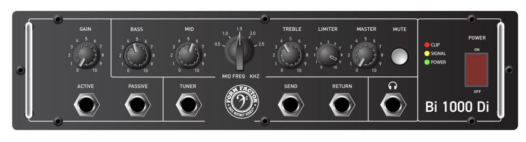 Form Factor Audio Bi1000Di Mockup