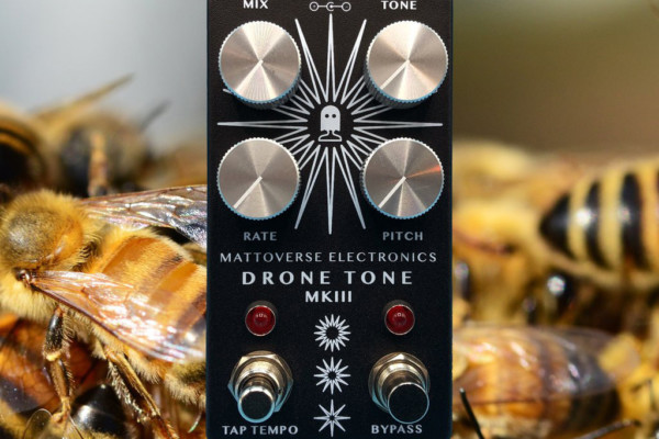 Mattoverse Electronics Introduces the Drone Tone MkIII Pedal
