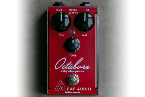 3Leaf Audio Reintroduces the Octabvre Mini Octave Pedal