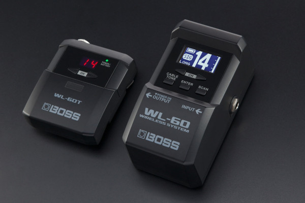 Boss Introduces the WL-60 Wireless System