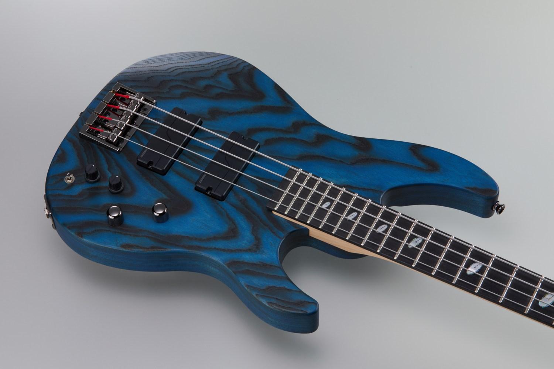 Caparison Guitars Dellinger Dark Blue Bass Body