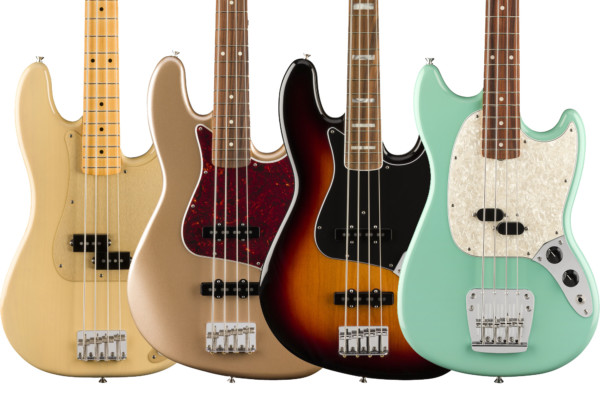 Fender Announces the Vintera Series Basses
