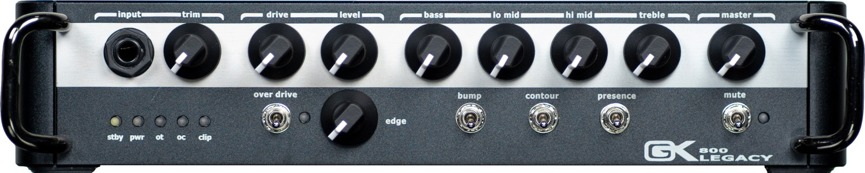 Gallien-Krueger Legacy Series 800 Bass Amp Front