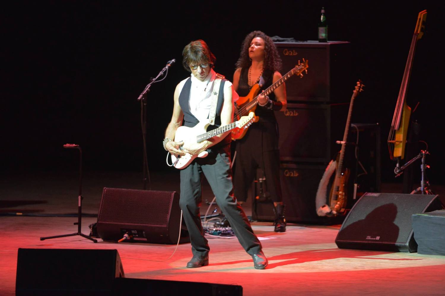 Jeff Beck and Rhonda Smith