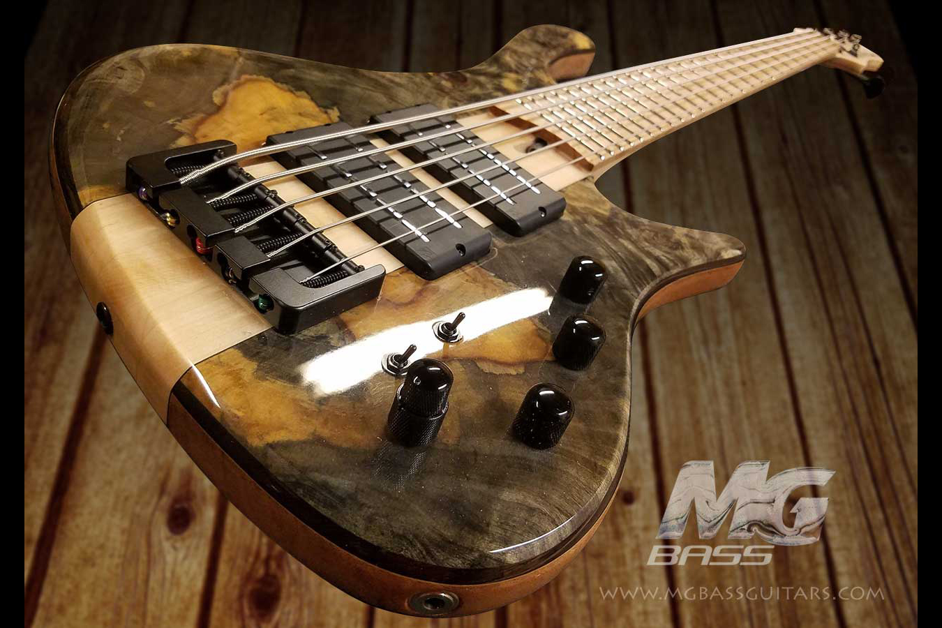 MG Bass Africa 5 Andy Irvine Signature Bass