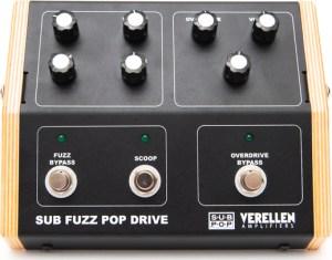 Verellen Amplifiers/Sub Pop Sub Fuzz Pop Drive Pedal
