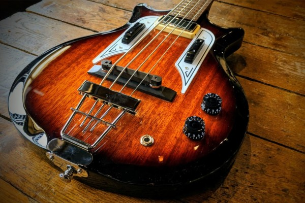 Bass of the Week: Eastwood Guitars Airline Pocket Bass
