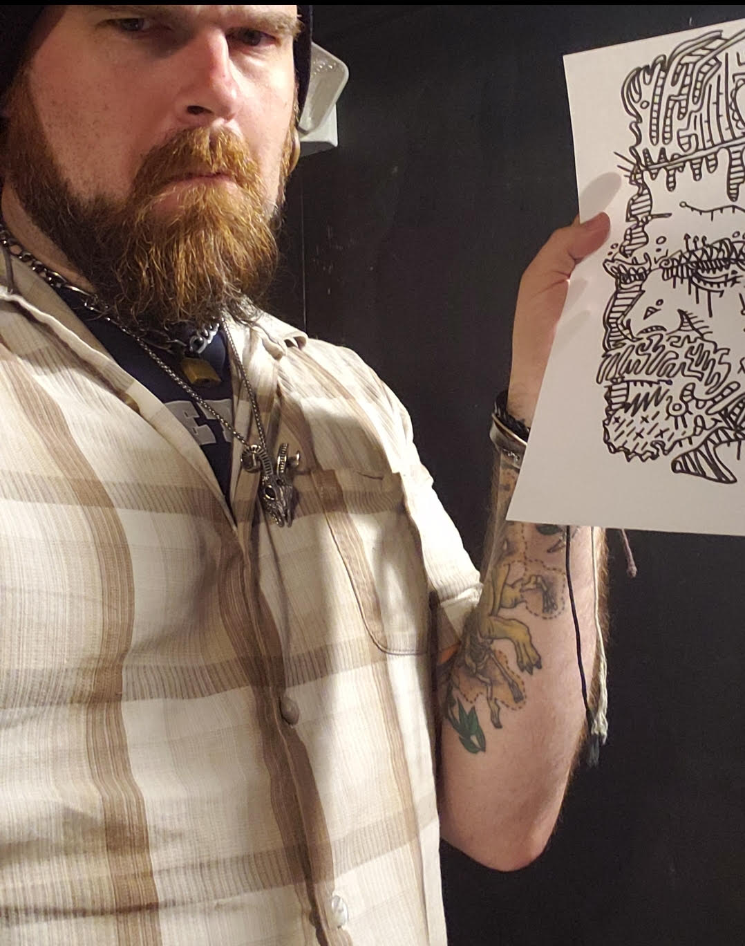 Sheriff Hopper Sketch
