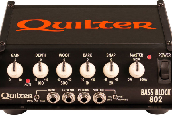 Quilter Labs Unveils the Bass Block 802 Amp