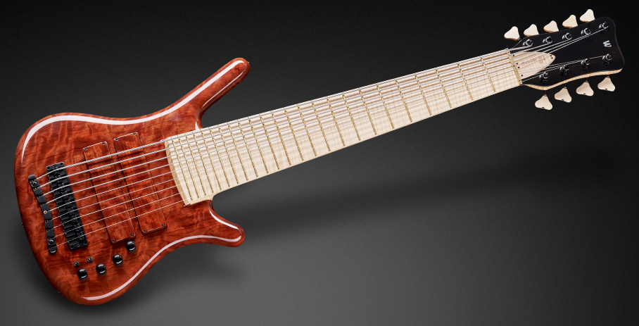 Warwick Custom Shop Masterbuilt Corvette NT 9-String Bass