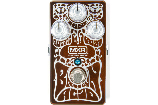 MXR Unveils the Limited Edition Brown Acid Fuzz Pedal
