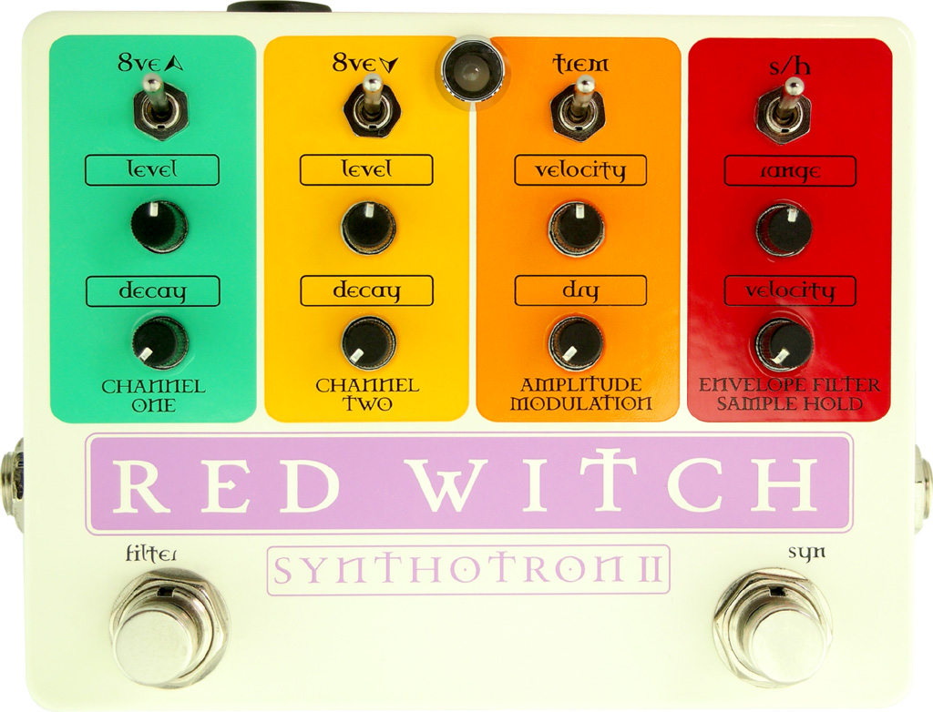 Red Witch Synthotron II Synth Pedal