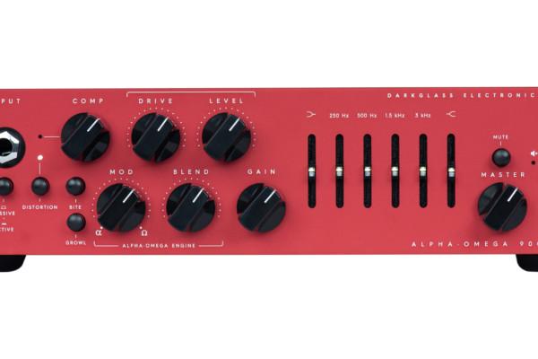 "Darkglass Electronics Unveils the Limited Edition Alpha•Omega 900 ""Centurion"" Bass Amp"