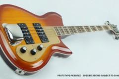 Eastwood Guitars Unveils the Rivolta Combinata Bass VII
