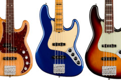 Fender Unveils the American Ultra Series Basses