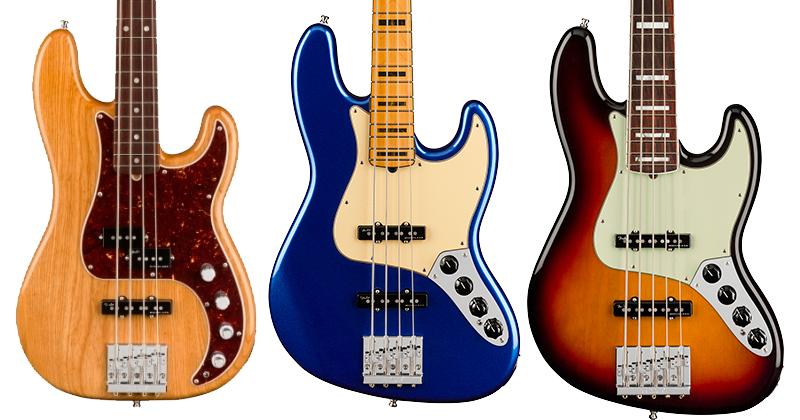 Fender American Ultra Series Basses