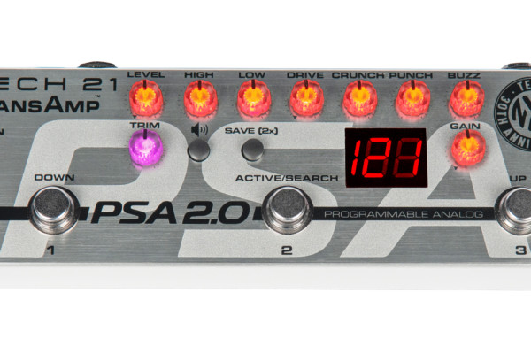 Tech 21 Unveils the PSA 2.0 Programmable Pedal