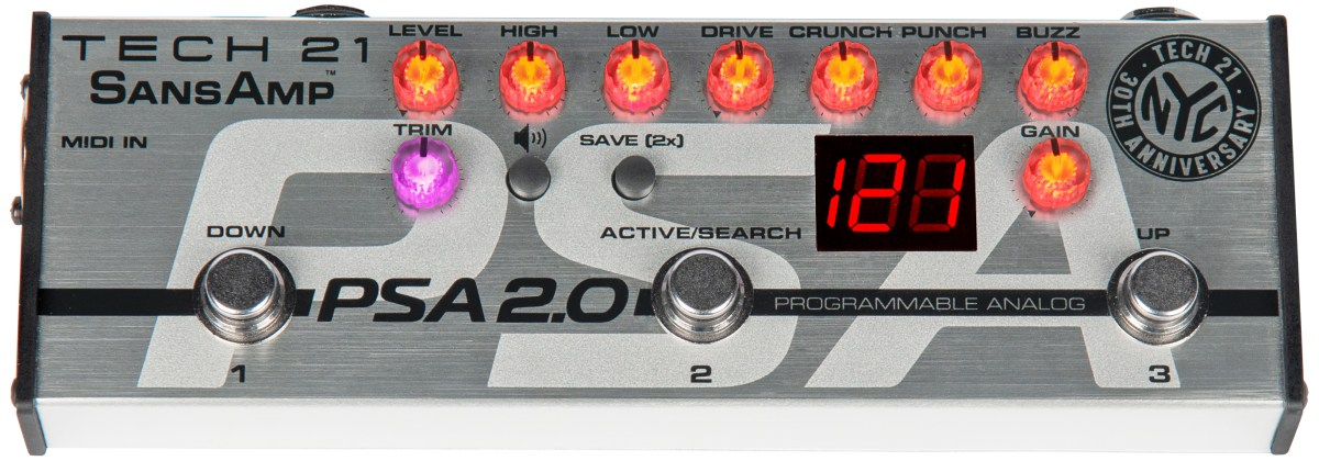Tech 21 PSA 2.0 Programmable Pedal