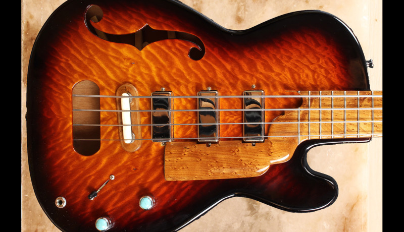 Bass of the Week: Carbonetti Guitars Constantine