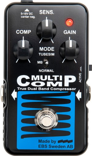 EBS MultiComp Blue Label Pedal