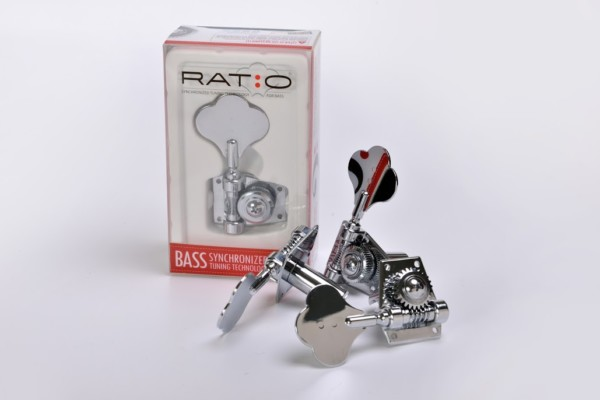Graph Tech Introduces Bass Ratios Machine Heads
