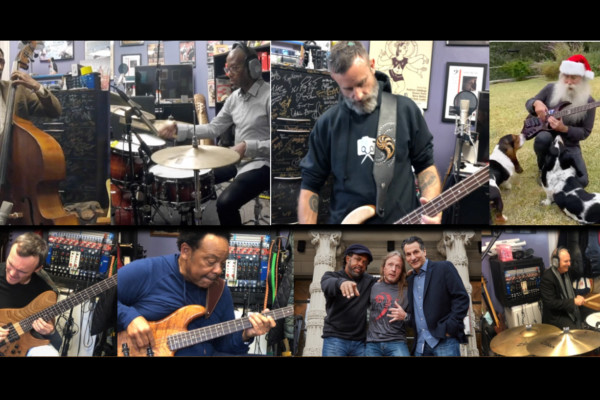 Berklee Bass Department: 2019 Holiday Jam