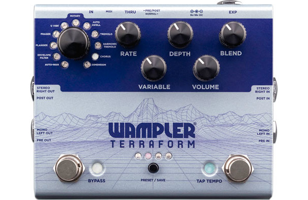 Wampler Pedals Introduces the Terraform Pedal
