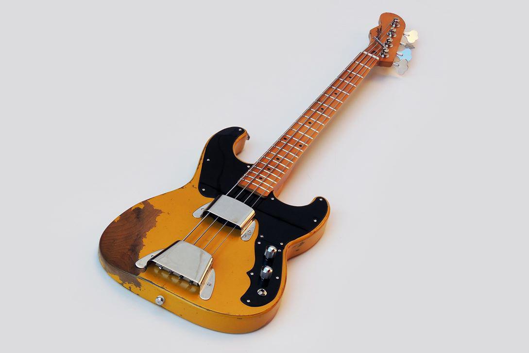 Burretone Guitars 51 P Tribute Bass