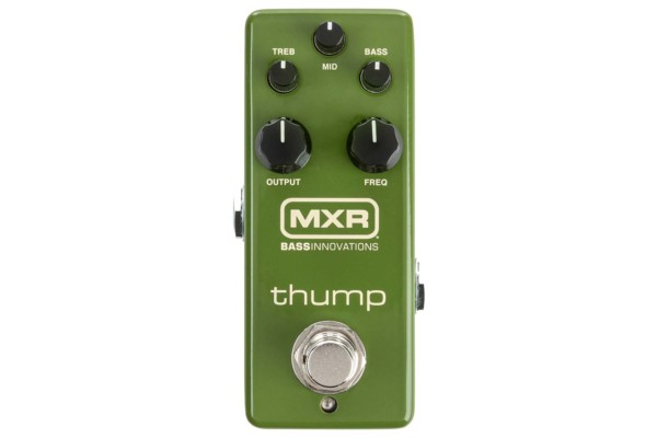 MXR Unveils the Thump Bass Preamp Pedal
