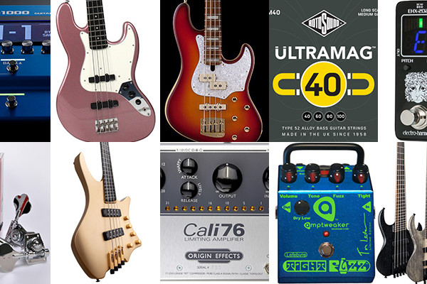 Bass Gear Roundup: The Top Gear Stories in December 2019
