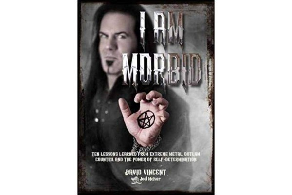 "David Vincent Releases Autobiography, ""I Am Morbid"""
