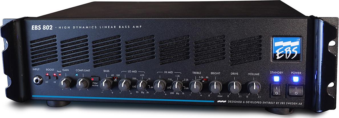 EBS 802 Bass Amp