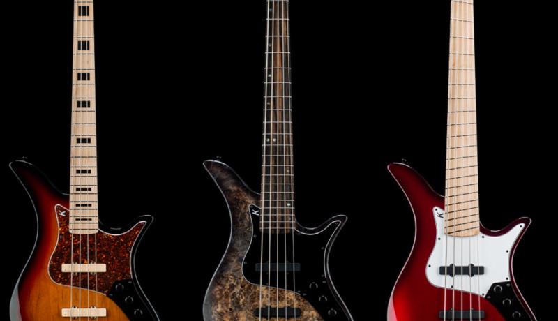 Kiesel Guitars Introduce the Thanos Bass