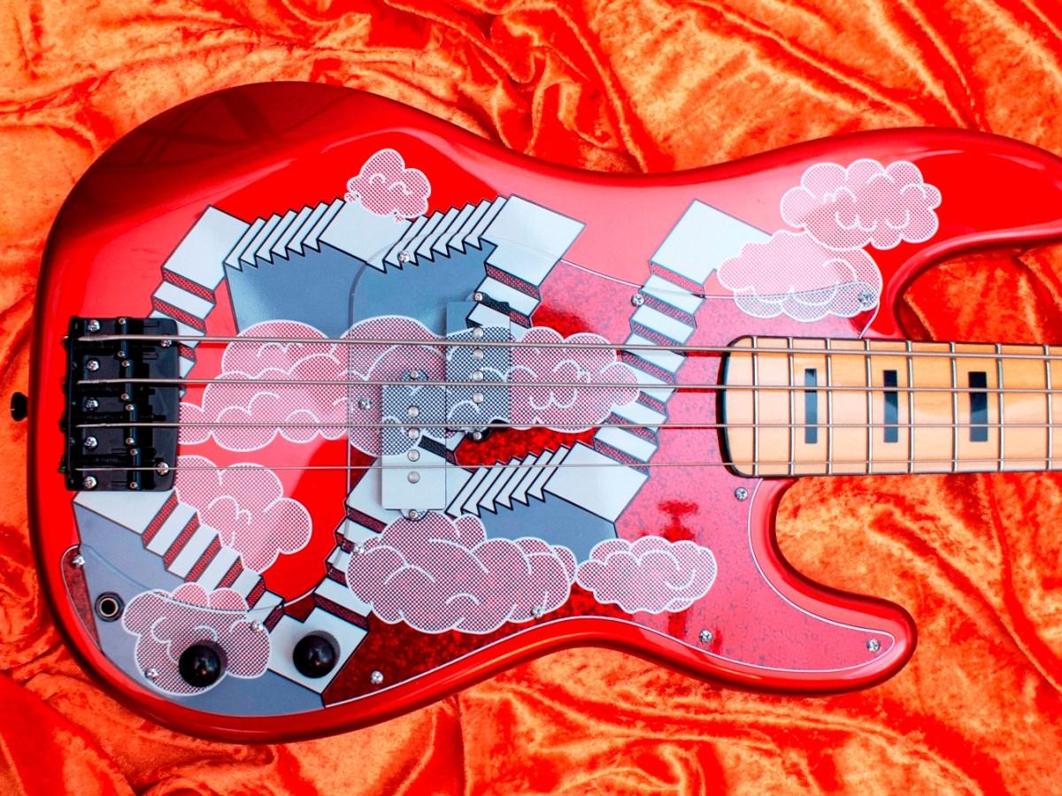 BITE Guitars Stairway-to-Heaven Bass Body